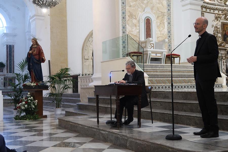 Don Giuseppe Cumbo il nuovo Vicario Generale dell'Arcidiocesi di Agrigento.