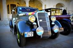 Maşină participantă la Raliul Monte Carlo