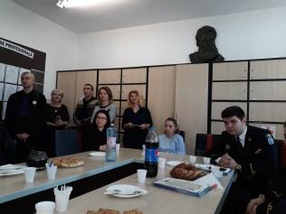 "Proiectul ""Omul-Carte"" la Școala nr.12 B.P.Hasdeu Constanta"