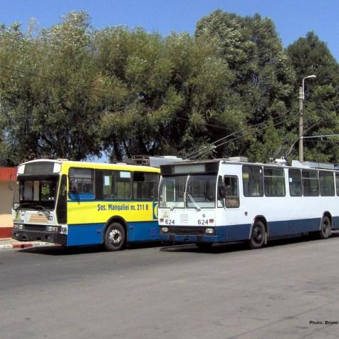 CL Palas - troleibuze 48 și 48B