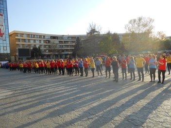 Flashmob în Piața Civică