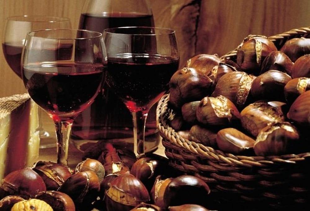 castagne vin brulè