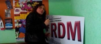 """Marina Rei firma il """"Murales di RDM"""""""