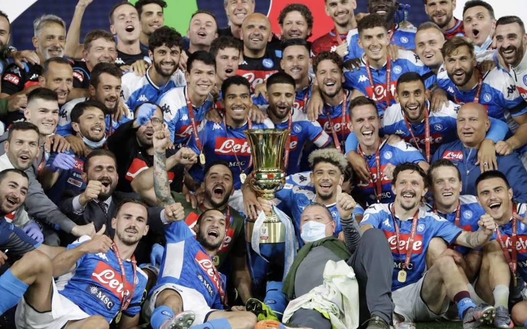 El Nápoli de David Ospina levantó la Copa de Italia