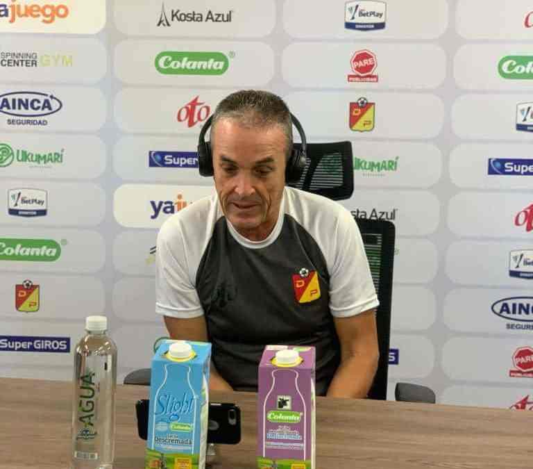 «Necesitamos ser inteligentes»: Néstor Craviotto, sobre el Deportes Tolima