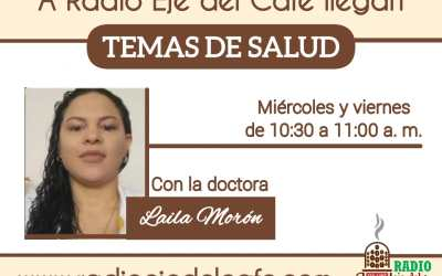 Temas de Salud Dra. Laila Morón: 14Enero 2021