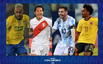 Copa América Brasil 2021 llega a su recta final