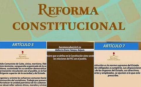Reforma Constitucional Cuba