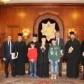 Επίσκεψη του Δημάρχου Ορεστιάδας και του Μητροπολίτη Δαμασκηνού στον Πατριάρχη