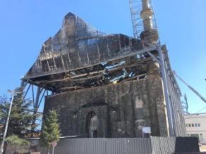 Τι δηλώνει η Πυροσβεστική για την πυρκαγιά στο τέμενος Βαγιαζίτ