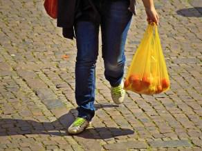 ψώνια τσάντα αγορά πλαστική σακούλα