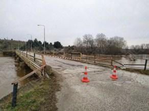 Κλειστή η γέφυρα Ερυθροπόταμου - γέφυρα Ερυθροποτάμου