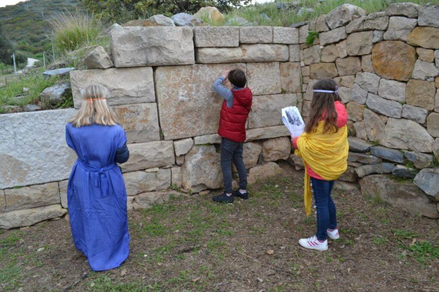 Αρχαιολογικός χώρος Ζώνης, διαδραστικό παιχνίδι