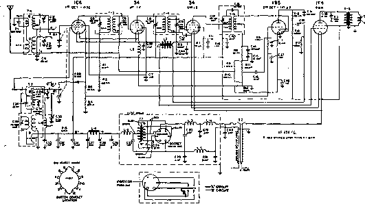 GE RADIO SCHEMATIC P776A - Auto Electrical Wiring Diagram on