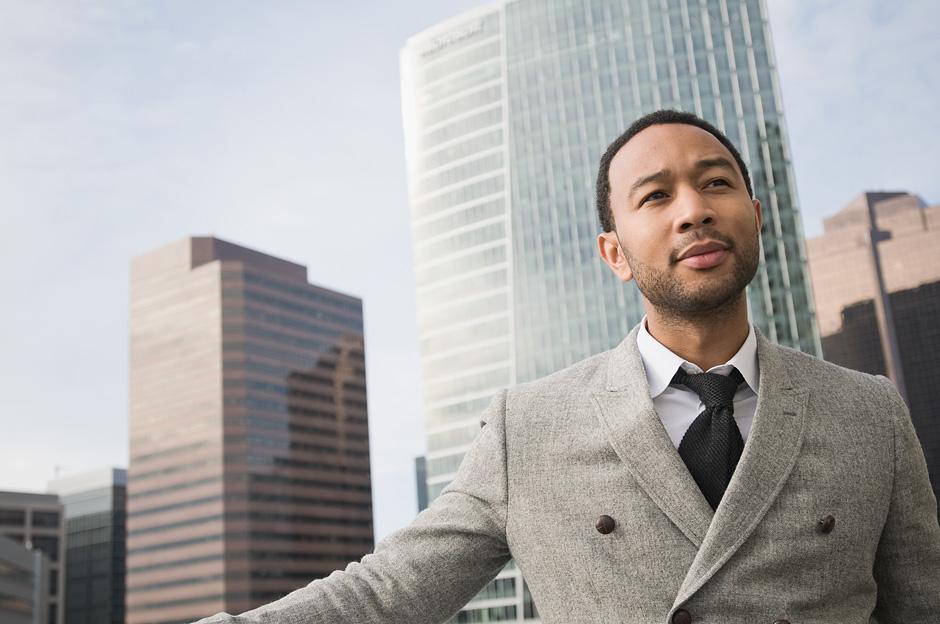 "John Legend Talks Creating a ""Beautiful Accident"" with Nikki Woods"