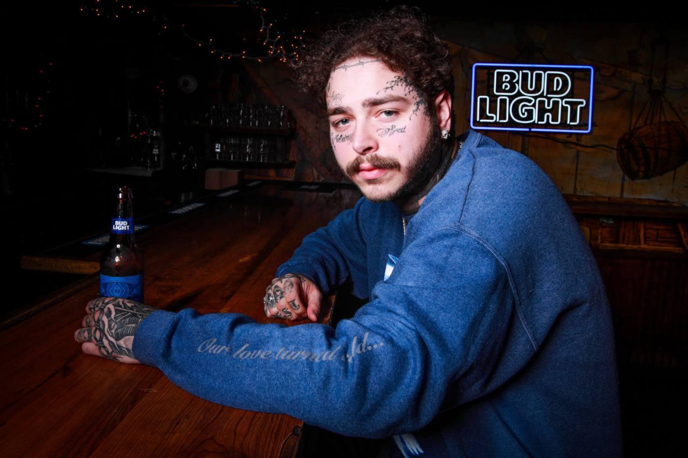 Post Malone Headlined Bud Light Dive Bar Tour Last Night in