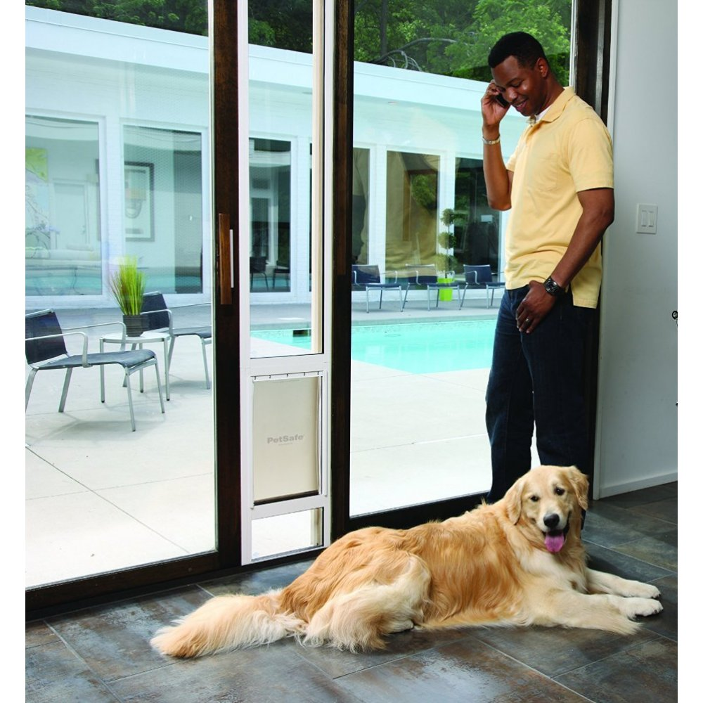 freedom patio panel pet door for 96 inch doors
