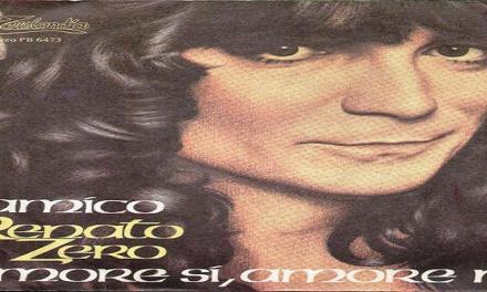 """Ottobre 1980: il brano """"Amico"""" di Renato Zero #1 delle hitchart."""