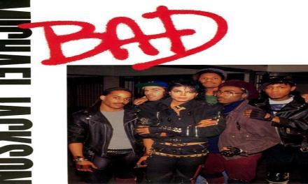 """Ottobre 1987: il brano """"Bad"""" di Michael Jackson #1 delle hitchart."""