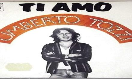 """Ottobre 1977: il singolo """"Ti amo"""" di Umberto Tozzi #1 delle hitchart."""