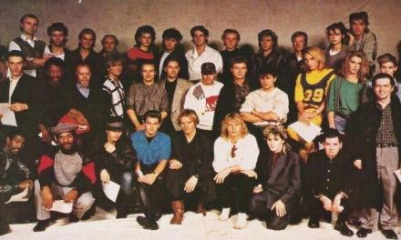 """Novembre 1984: si riunivano a Londra gli artisti britannici per dare vita al progetto """"Band Aid"""""""