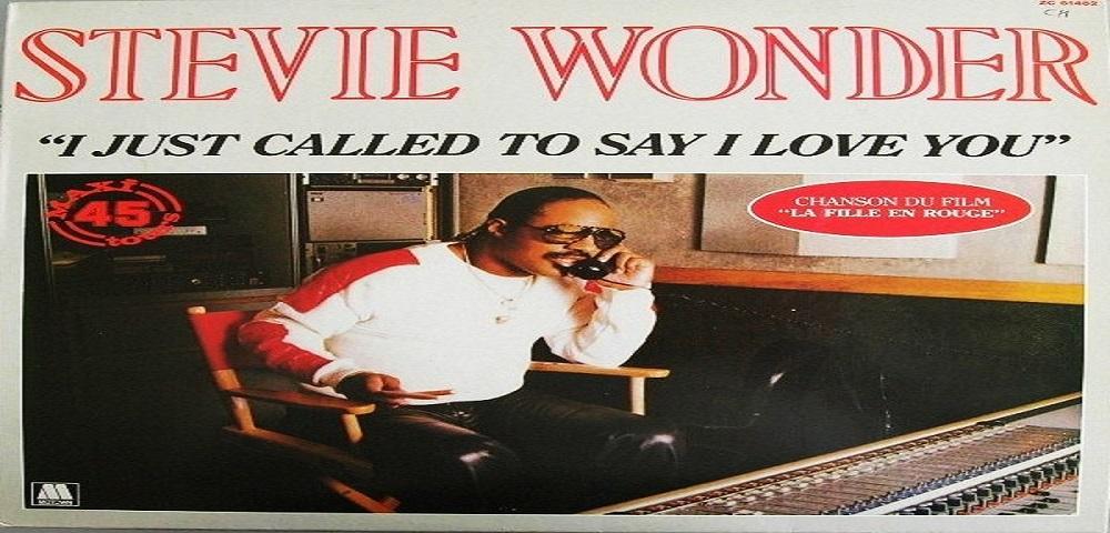 "Novembre 1984: il brano ""I Just Called To Say I Love You"" di Stevie Wonder #1 delle hitchart"