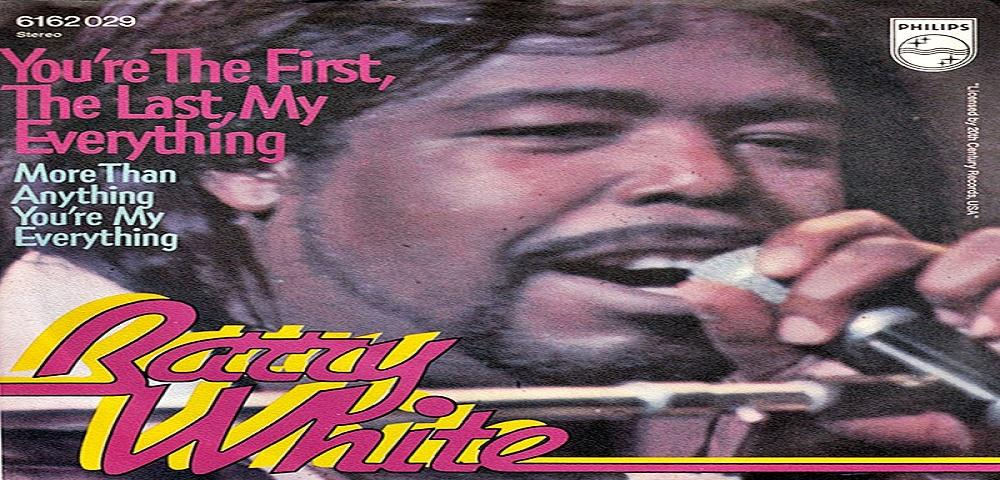 "Dicembre 1974: il brano ""You Are The First, My Last, My Everything"" di Barry White #1 delle hitchart"