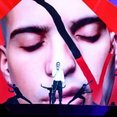 Eurovision, le prove eccellenti di Mahmood per il Jury Show (VIDEO)