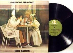 """Pubblicato """"Una donna per amico"""" di Lucio Battisti"""