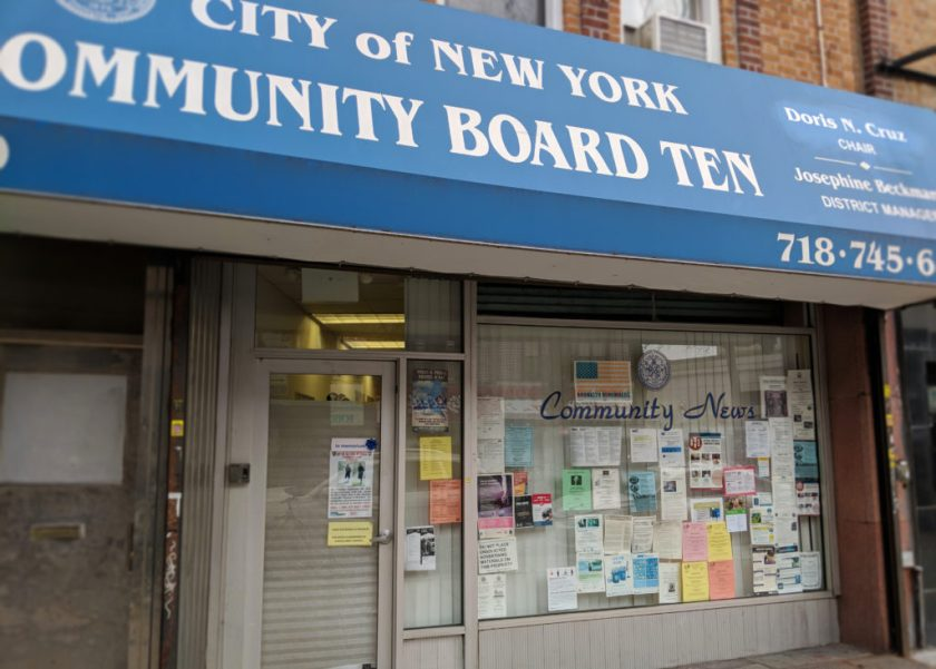 Community Board 10 District Office on 5th Avenue