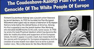 Image result for Kalergi Pan-European Plan photo