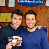 Mirco Staltari staff Radio Gioiosa Marina armando quattrone in studio liberamente