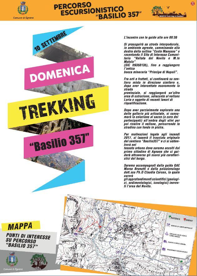 il trekking ad agnana calabra con l'associazione vivere agnana bene comune e il comune di agnana rgm news