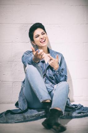 foto di giordana, cantante scoperta ad amici di maria de filippi e concorrente del 70 festival di sanremo