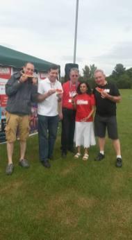 The Radio Harrow Team at SKLPC - Fun Day