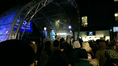 Harrow Town Centre Christmas Lights - Matt Blank announces fireworks