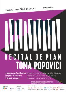 Recital Toma Popovici