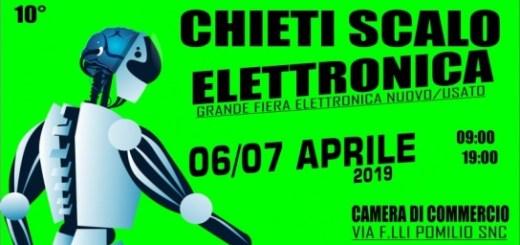 Fiera dell'Elettronica Chieti Scalo 2019 locandina