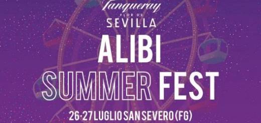 Alibi Summer Fest locandina