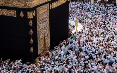 Holy Ka'ba Undergoes Routine Maintenance After Hajj Season