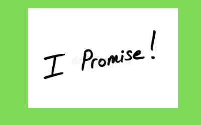 The Importance of Keeping Your Promise