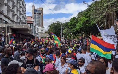 Mauritius Protests following Dead Dolphins Find