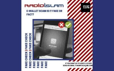 Fake Check with Mumtaz – 4 September 2020