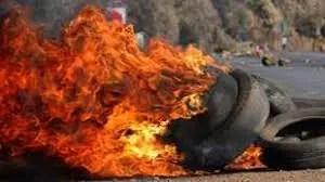 """K43 Near Lenasia South a """"No Go"""" Following Volatile Protest Action"""