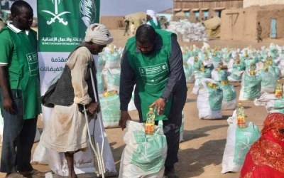 Saudi Arabia's KSrelief Distributes Much Needed Humanitarian Aid to Flood Ravaged Sudan