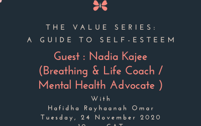 Living The Legacy: Breathing & Life Coach / Mental Health Advocate – Nadia Kajee