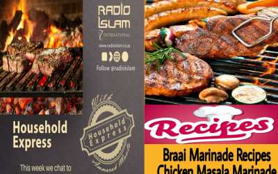 Household Express – Braai Marinade Recipes, Chicken Masala Marinade,Steak n Chops Marinade