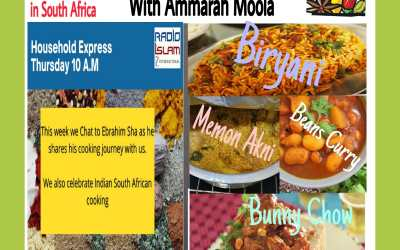 Household Express: Radio Islam sound producer Ebrahim Sha, cooks akni for staff