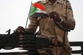 Sudanese Protest Killing by RSF Paramilitary Unit