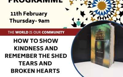 The Social Programme –  30 Ways to Show Kindness